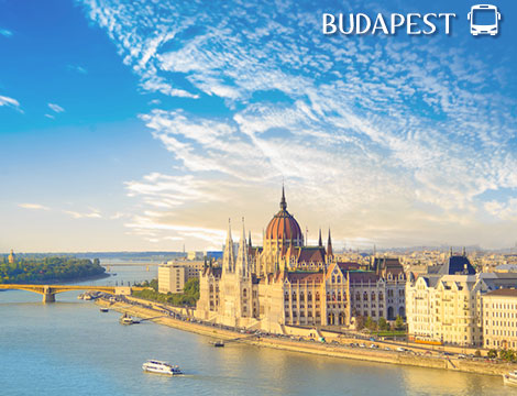 Tour in bus di Budapest