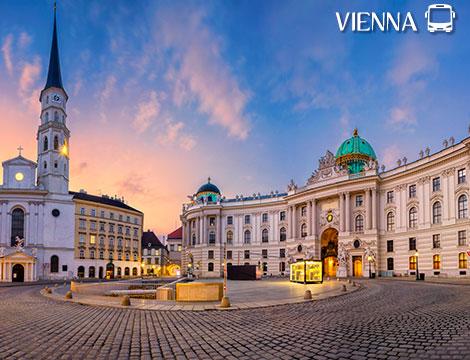 Tour in bus di Vienna