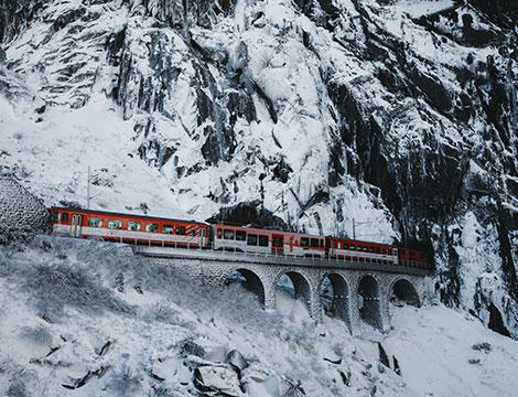 Trenino Rosso e St. Moritz