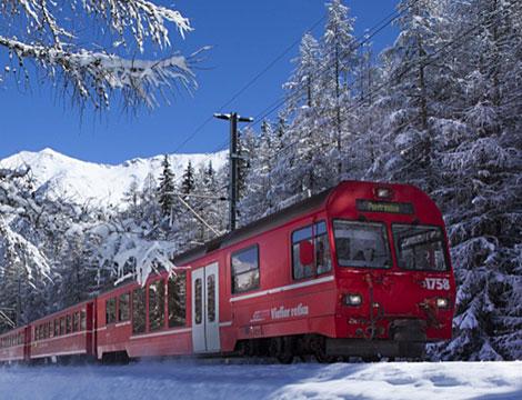 Trenino Rosso del Bernina e Val Poschiavo