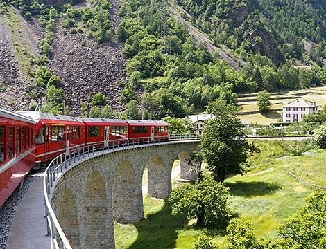 Trenino del Bernina da Tirano + bus A/R a 89euro