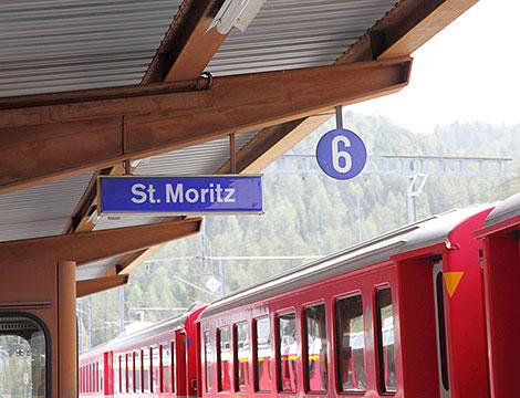 Trenino Rosso e St Moritz