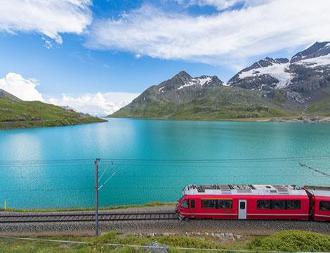 Trenino del Bernina e Alp Grum