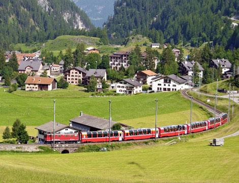 Trenino del Bernina e Poschiavo