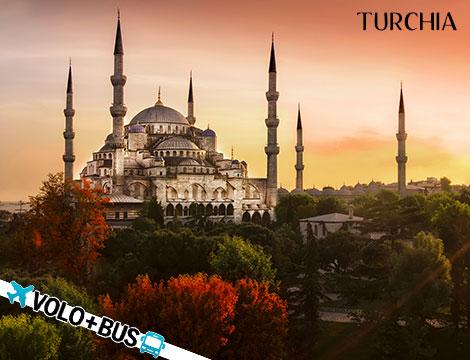 Turchia: volo + tour classico