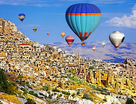 Turchia volo e tour clalssico