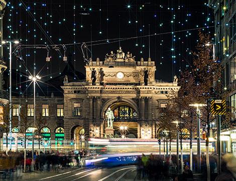 Zurigo mercatini di Natale