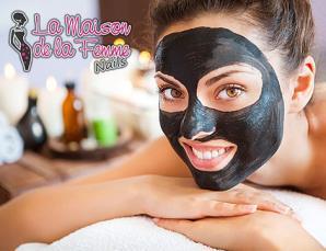 3 trattamenti viso black mask Talenti