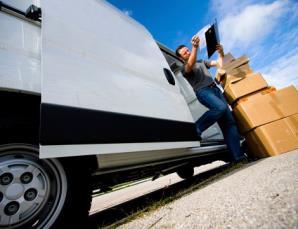 Noleggio furgone e servizio di facchinaggio
