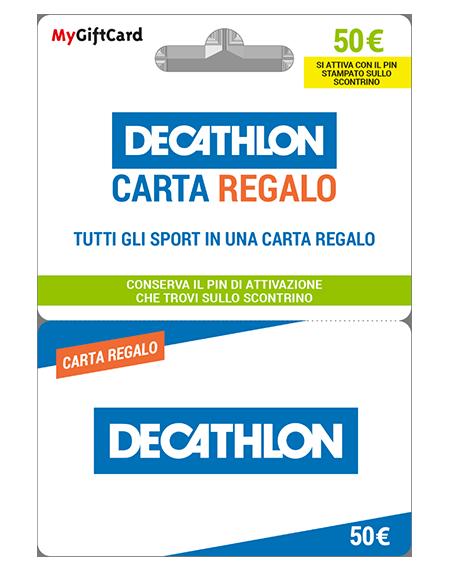 Carta regalo decathlon scaricare